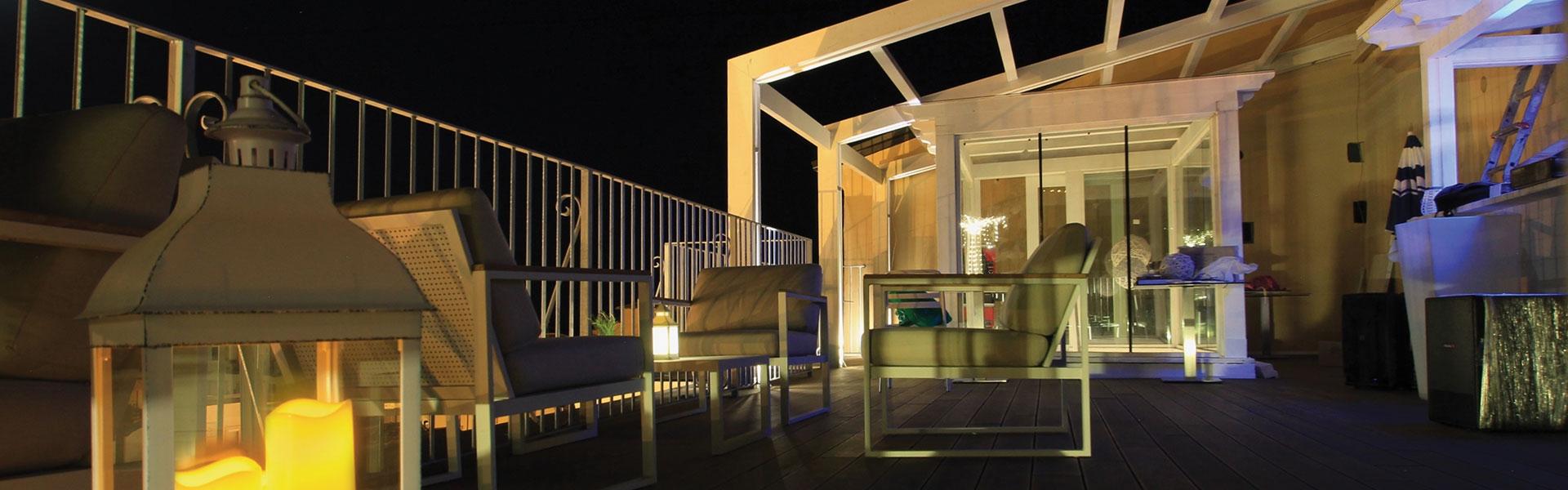 Sun terrace and bar